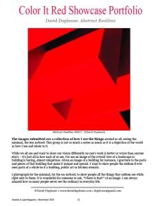 David Duplessie-Color It Red Showcase Portfolio