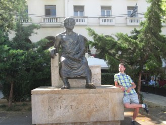 me and Aristoteles
