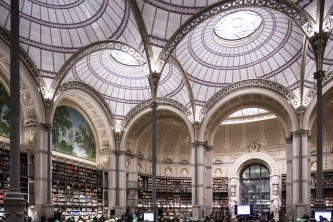Bibliotheque Nationale de france, Paris- Henri Labrouste, 1854 - Ph. Davide Galli