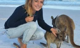 lucile partie en australie