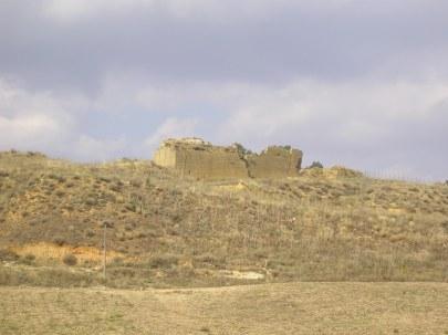 Enna. Un rudere nell'area del Monte Capodarso
