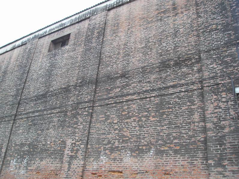 Il muro dello zuccherificio