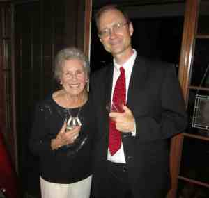 Landscape commissioner Thelma Hunter and DET at Thelma's 88th Birthday Party