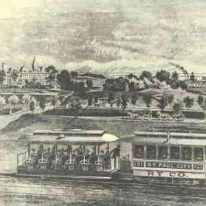 Image of an old trolley