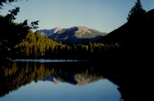 mountain lake for guitar and string trio