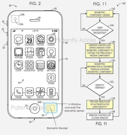 Apple Payment Patent