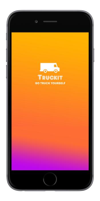 TruckIt App Splash Screen