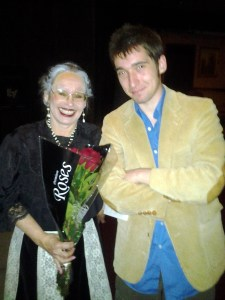 Cheryl Fiedler with Steven Fiedler