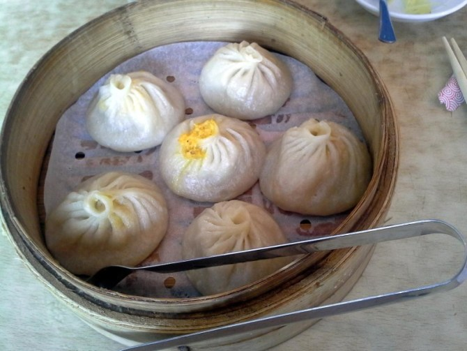 Soup dumplings at Nan Xiang