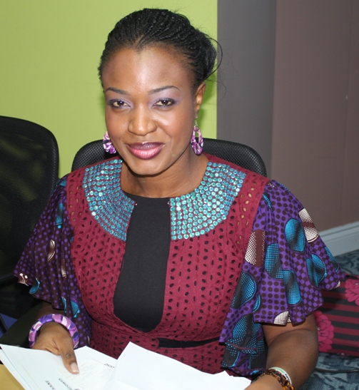 Mrs Tokunbo Olamiju Ajilore-Chiedu, CEO Compass Consulting. Photo courtesy David F Roberts