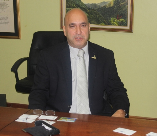 Mr Christopher Zacca, President , Private Sector Organisation of Jamaica