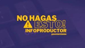 errores infoproductos
