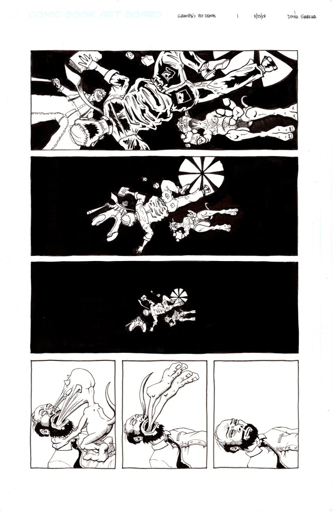 Grandpa's Pet Demon - Page 4 - Inks