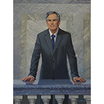 Official portrait of Premier Jim Prentice