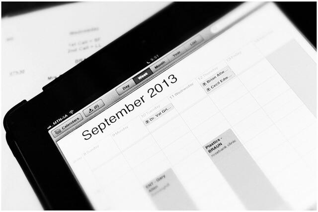 El calendario editorial