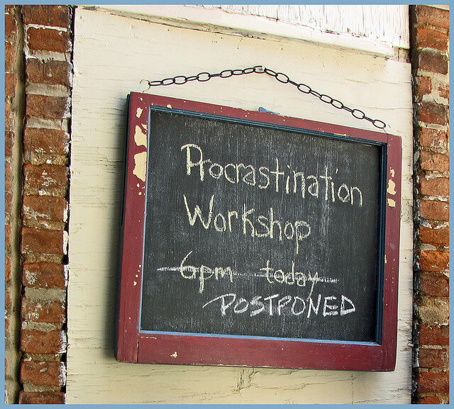 5 pautas para vencer la procrastinacion