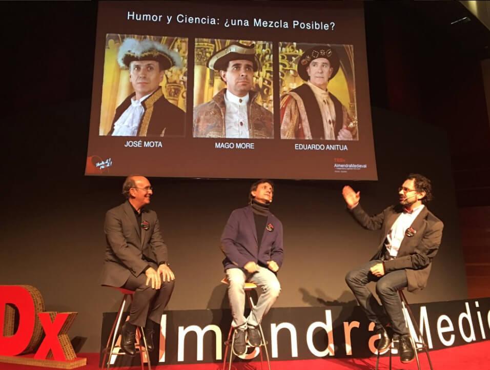 tedx almendra medieval 2016 José Mota Eduardo Anitua Magor More
