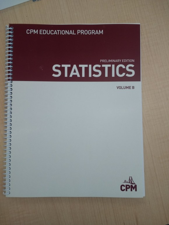 CPM Stats title page