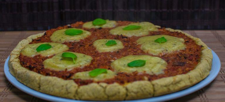 Pizza Vegana Barbacoa Opción Saludable