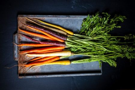 Zanahorias para hacer encurtidos en vinagre