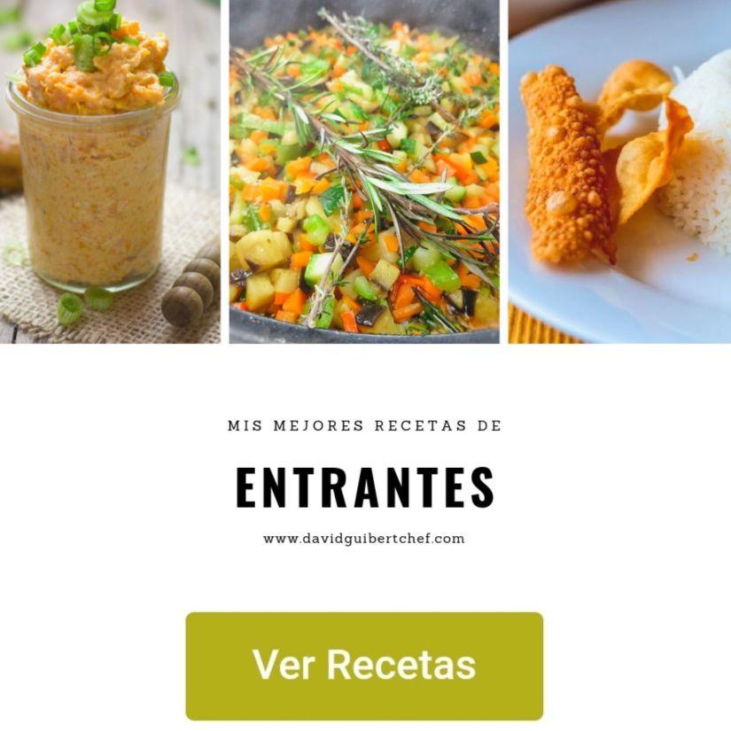 Aperitivos de comida real fáciles y rápidos de hacer