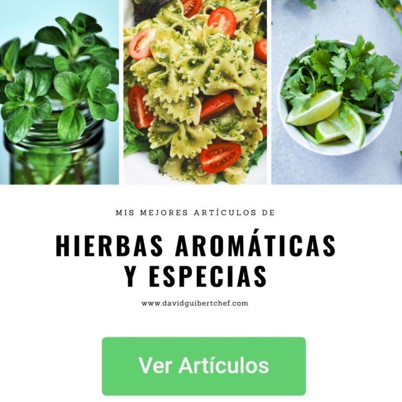 Como usar hierbas aromáticas para cocinar rico