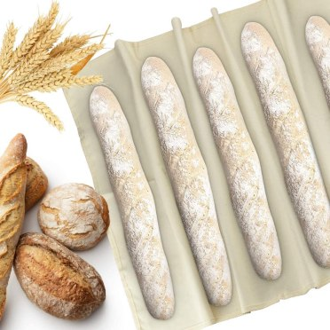 Tela de lino para pan