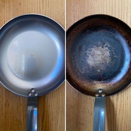 Cómo curar una sartén de hierro