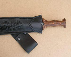 Bronze Sword Scabbard - Hilt