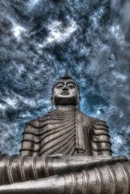 Buddha statue Sri Lanka © David Hamilton Melby high dynamic range