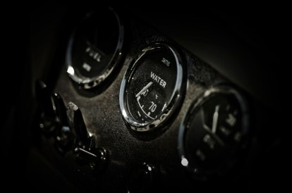 Daimler SP250 Dart dashboard © David Hamilton Melby