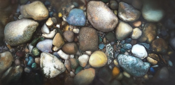 """Formation, Oil on Panel, 24""""x48"""" $7500, Sold"""