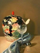 Beauty Realized, Oil on panel, 18″x24″ $3750, Sold