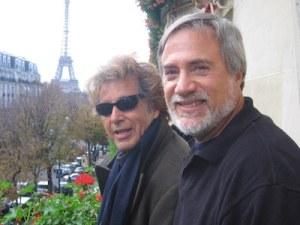 Photo of Lawrence Grobel and Al Pacino