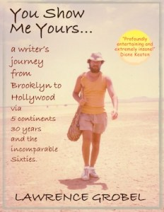Book cover to You Show Me Yours by Lawrence Grobel