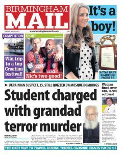 Birmingham Mail went with a blurb