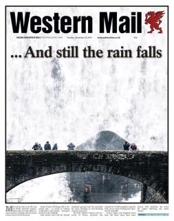 floods tue western mail