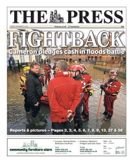 floods tue york