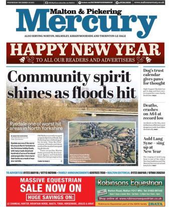floods wed malton
