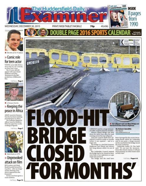floods weds examiner