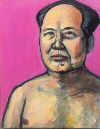 """Hot Mao"" Acrylic on Canvas 2015"