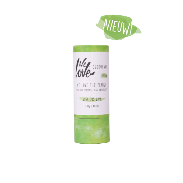 We Love The Planet Deodorant Stick Luscious Lime