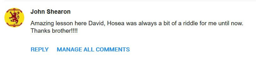 GREAT COMMENT ABOUT DAVID JAMES IN BOSTON