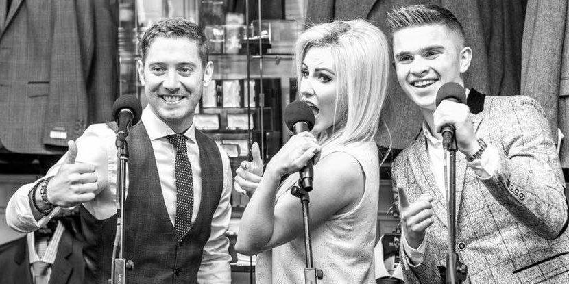 Cliona Hagan, Barry Kirwan, David James Harveys Point summer Cabaret