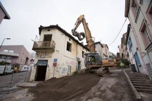 Place nette pour un nouveau quartier
