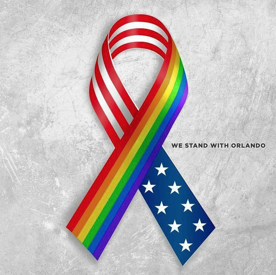 Orlando Gay Ribbon