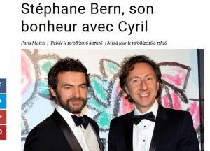 Stéphane Bern et son compagnon