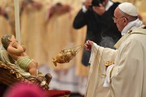 pape François messe de Noël 2015