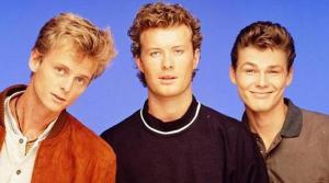 A-ha, trois beaux gosses venus du froid