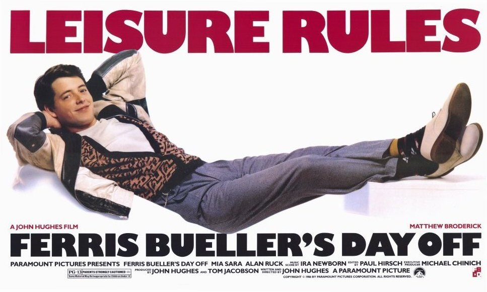 Ferris Buellers - ado branleur en action